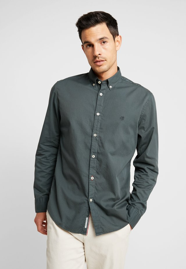 BUTTON DOWN LONG SLEEVE - Koszula - mangrove