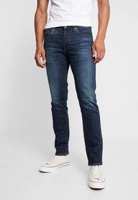 Levi's® - 511™ SLIM FIT - Jeansy Slim Fit - dark-blue denim - 0