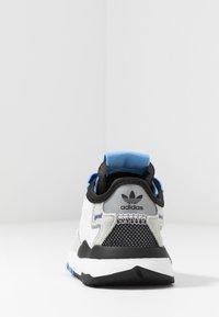 adidas Originals - NITE JOGGER - Slip-ons - footwear white/real blue - 4