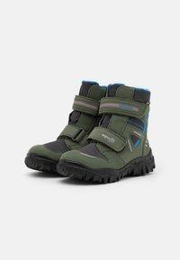 Superfit - HUSKY - Winter boots - grün/blau - 1