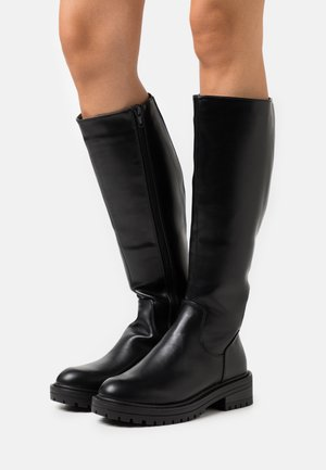 PADDED CHUNKY  - Boots - black