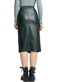 Esprit - Pencil skirt - dark green - 2