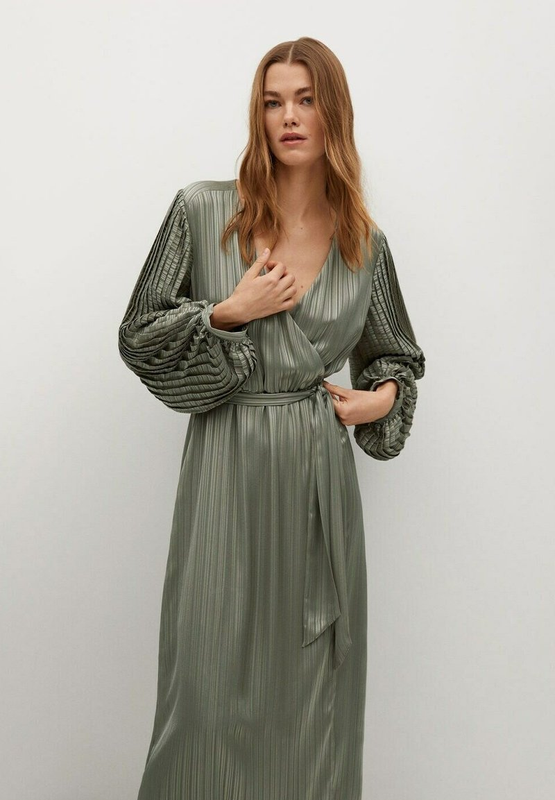 Mango - Cocktail dress / Party dress - olivengrün