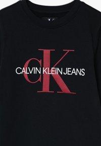 Calvin Klein Jeans - MONOGRAM - Sweater - black - 3