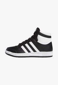 adidas Originals - TOP TEN SPORTS STYLE MID SHOES - High-top trainers - black - 0