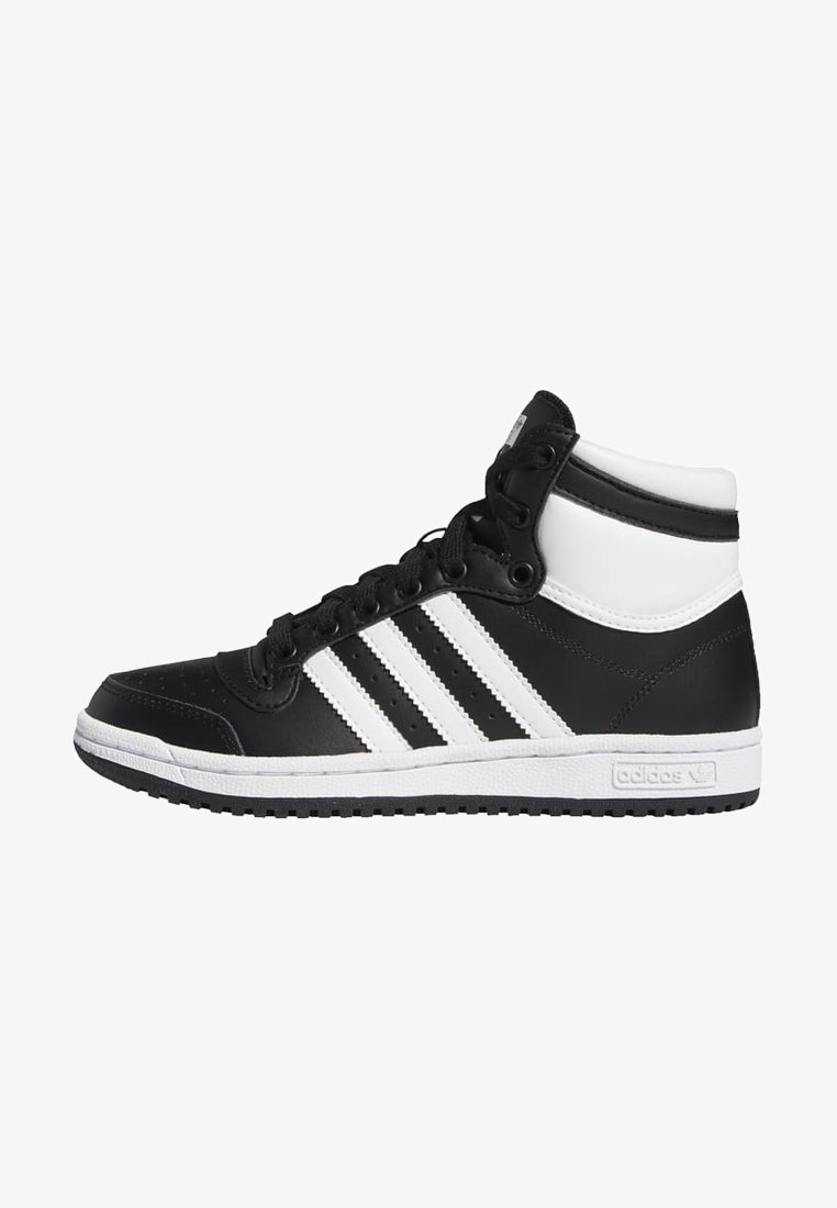 adidas Originals - TOP TEN SPORTS STYLE MID SHOES - High-top trainers - black