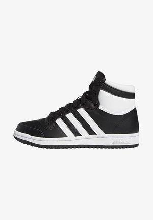 TOP TEN SHOES - Sneakers hoog - black