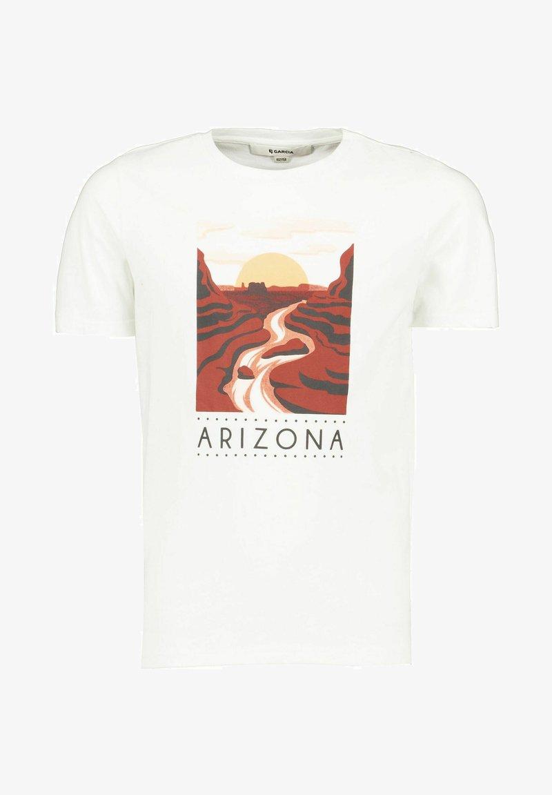 Garcia - Print T-shirt - off white