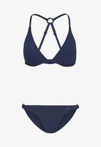 TRIANGEL SET - Bikini - navy