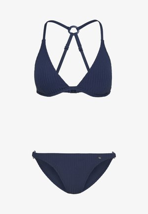 TRIANGEL SET - Bikiny - navy
