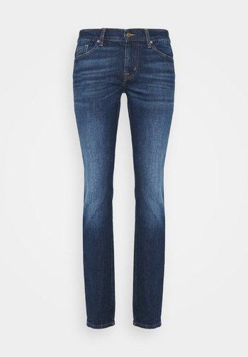 RONNIE CRUX - Slim fit -farkut - mid blue