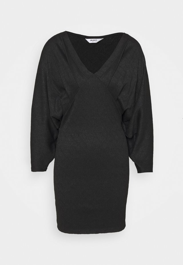 OBJHELENE DRESS - Korte jurk - black