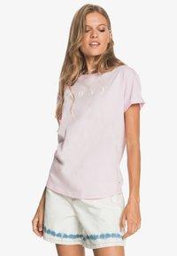 Roxy - Print T-shirt - pink mist - 0
