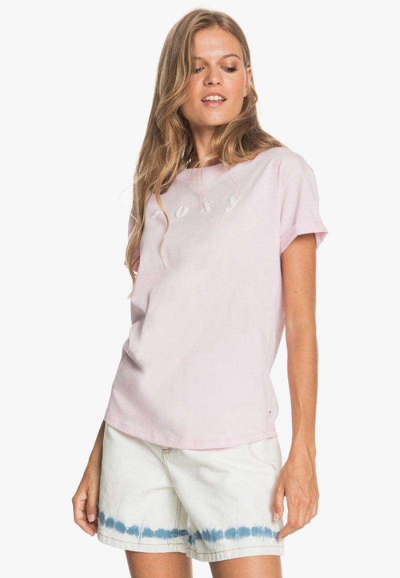 Roxy - Print T-shirt - pink mist