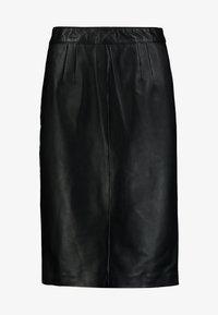 Oakwood - ENORA - Pouzdrová sukně - black - 3