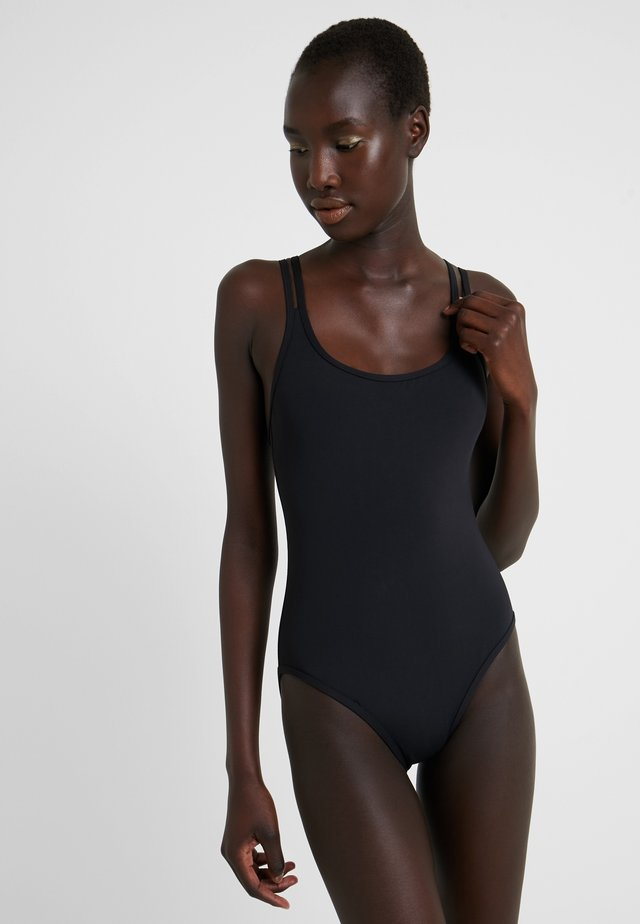 DOUBLE STRAP - Swimsuit - black