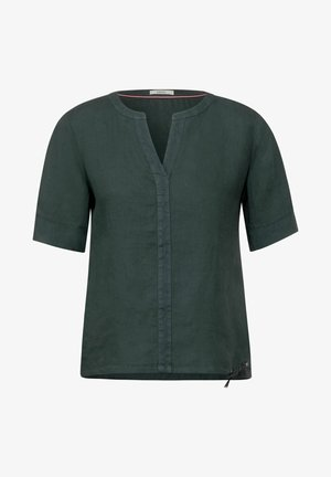 IN UNIFARBE - Blouse - grün