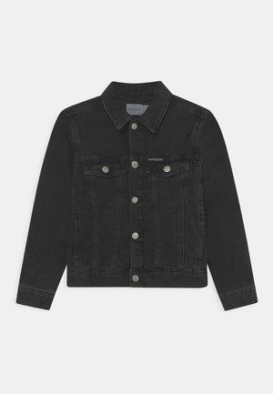 TRUCKER UNISEX - Denim jacket - black denim