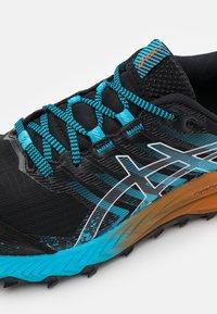 ASICS - GEL-TRABUCO 9 - Zapatillas de trail running - black/white - 5