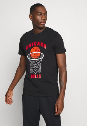 NBA CHICAGO BULLS BASKETBALL TEE - Article de supporter - black
