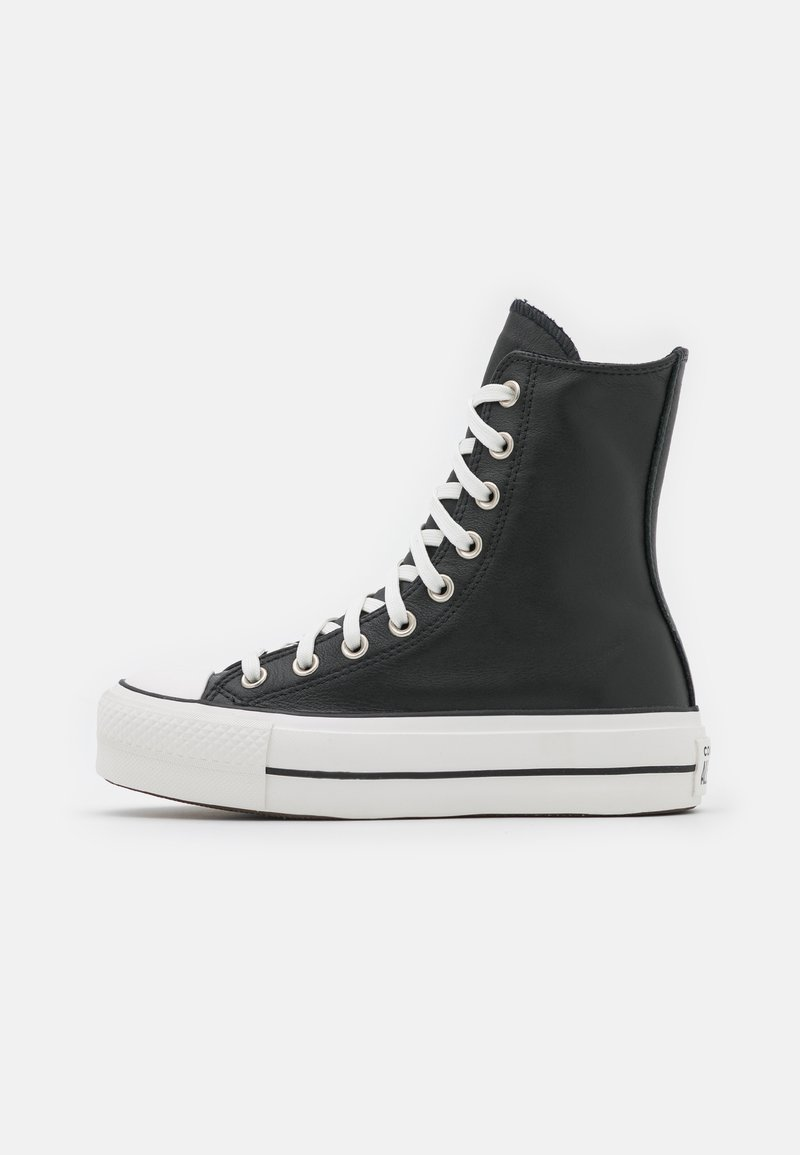 Converse - CHUCK TAYLOR ALL STAR LIFT  - High-top trainers - black/white