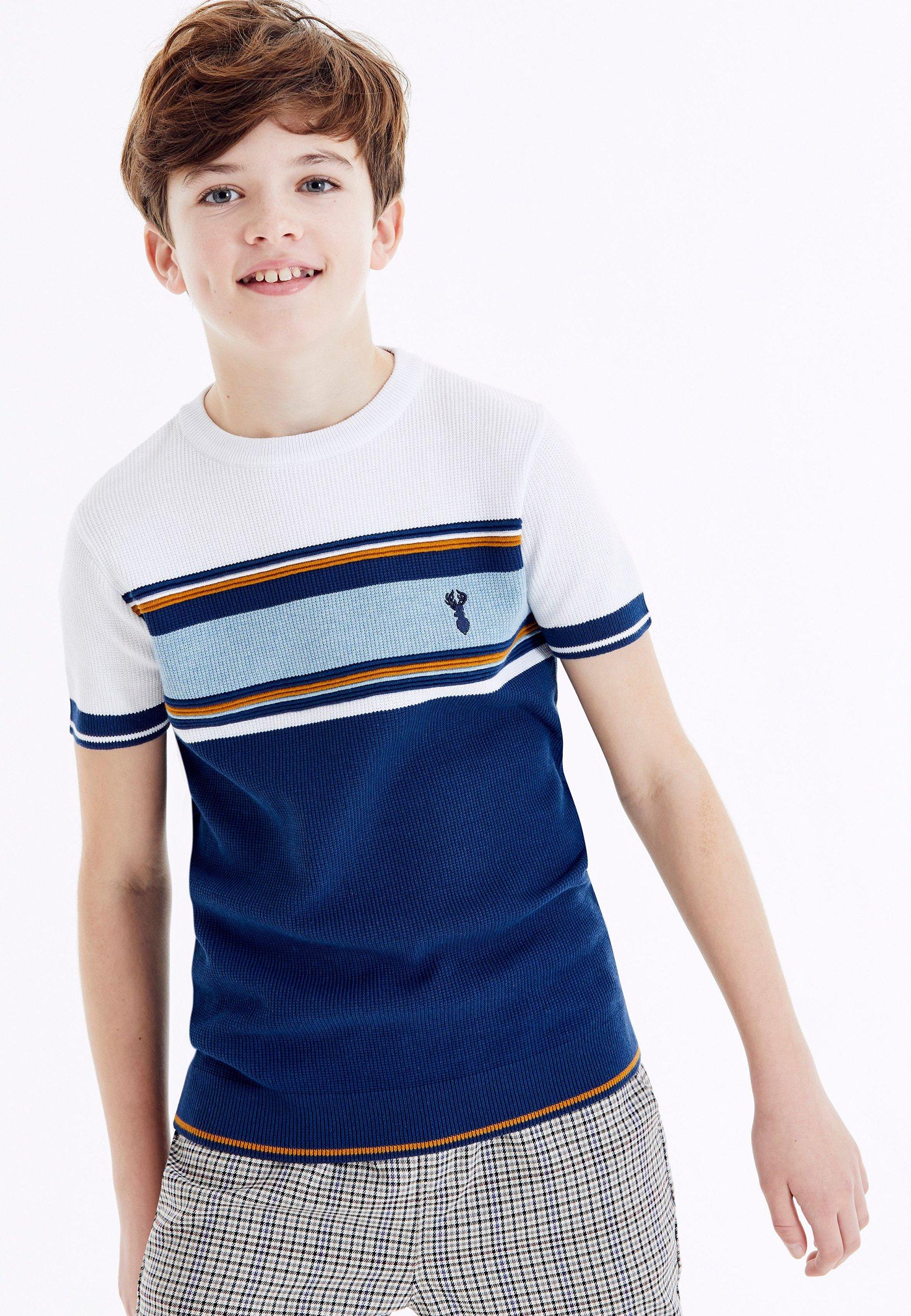 Bambini CHEST STRIPE  - T-shirt con stampa
