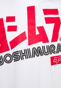 Fox Racing - YOSHIMURA OVERSIZED TEE - T-shirt print - white - 2