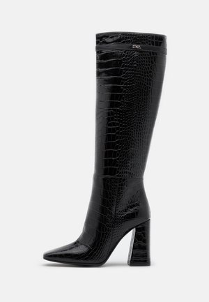 LEG BOOT EXOTIK - High heeled boots - black