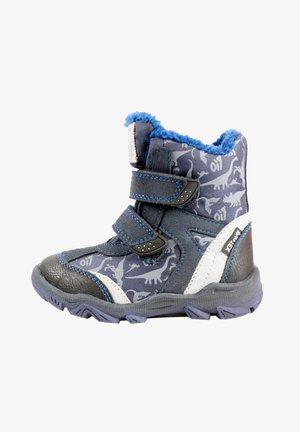 Winter boots - ocean