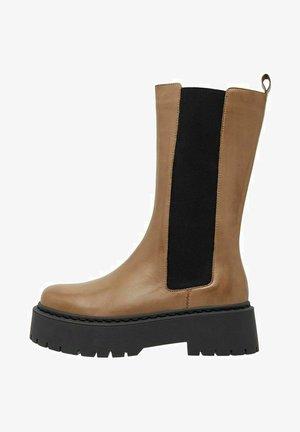 BIADEB  - Platform boots - beige6
