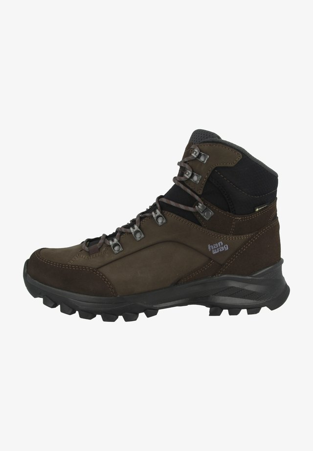 BANKS GTX - Hiking shoes - brown