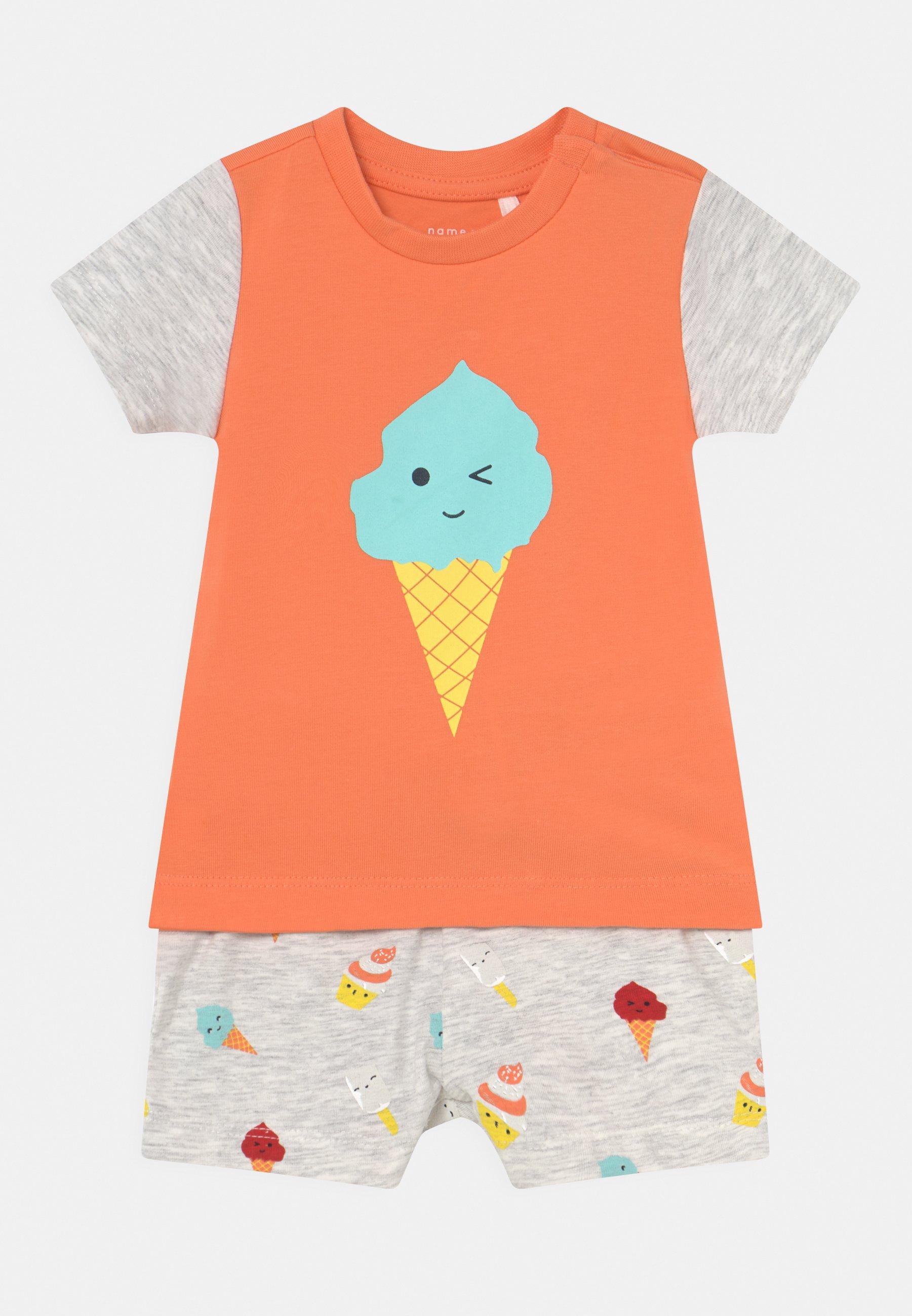 Kids NBMJEFF SET UNISEX - Print T-shirt