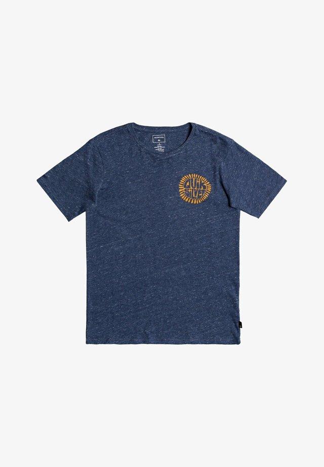 ENDLESS TRIP  - T-shirt imprimé - sargasso sea heather