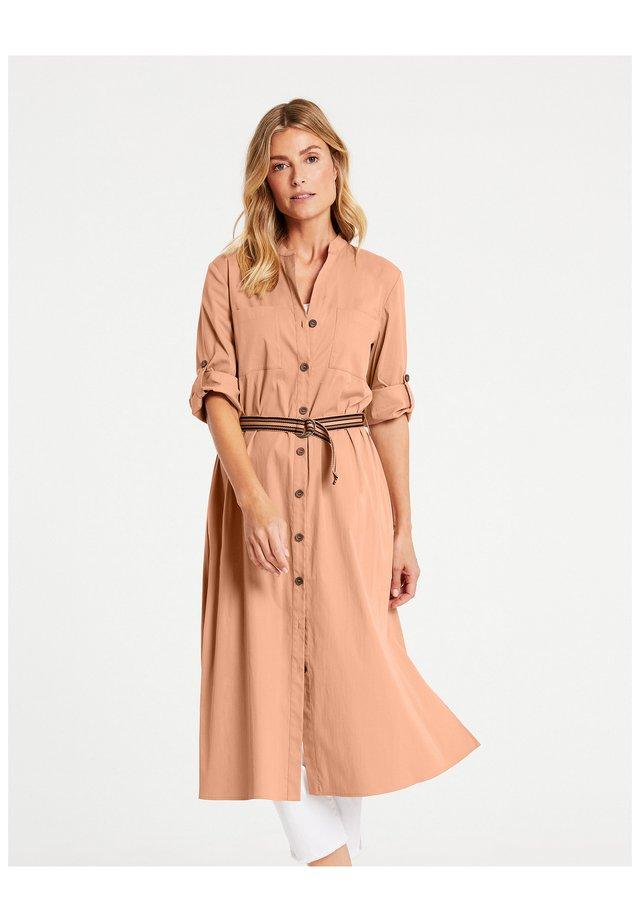 Skjortklänning - sahara