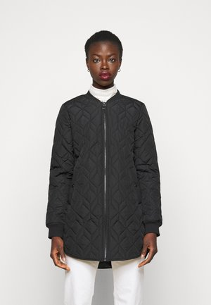 ONLALLISON QUILTED LONG - Bomber Jacket - black