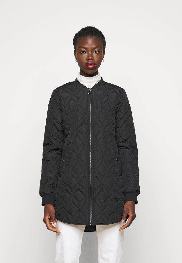 ONLALLISON QUILTED LONG - Giubbotto Bomber - black