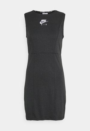 AIR DRESS - Shift dress - smoke grey/black/white