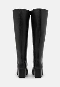 Monki - VEGAN PATTIE BOOT - Boots - black - 3