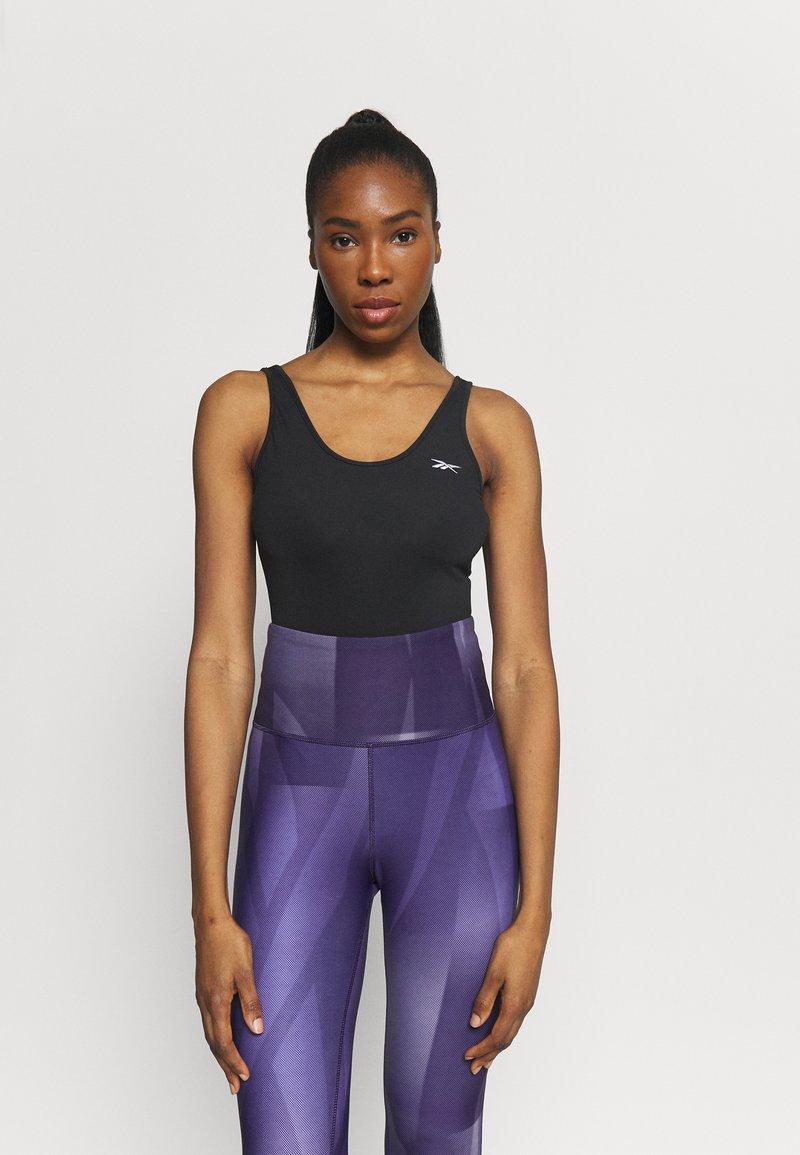 Reebok - BODYSUIT - trikot na gymnastiku - black