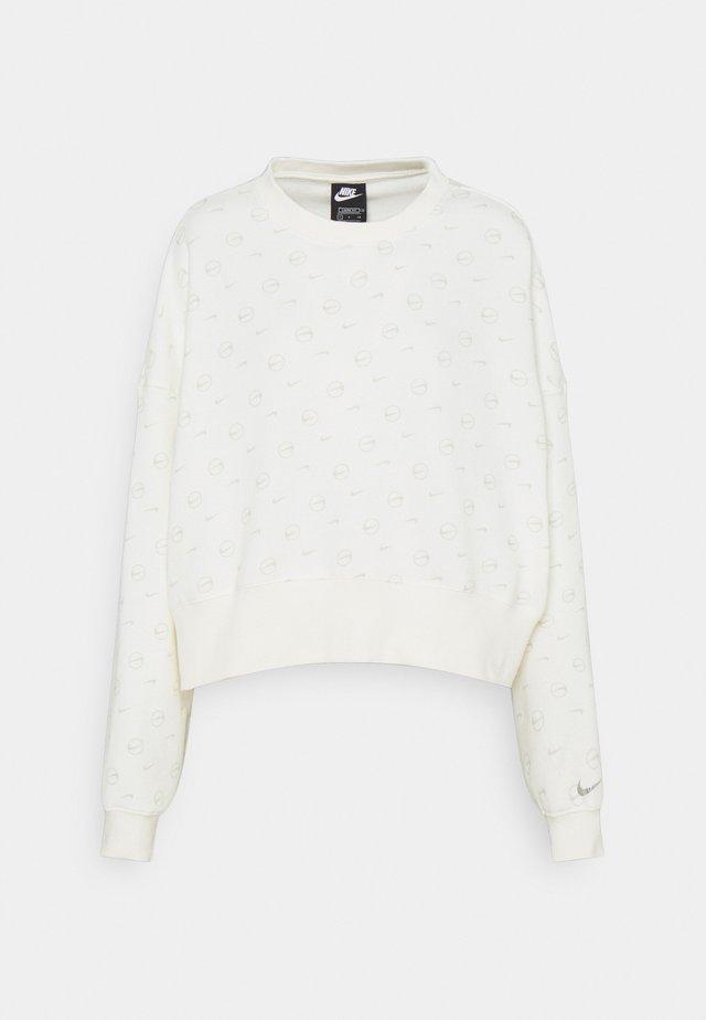 Sweatshirt - sail/light bone