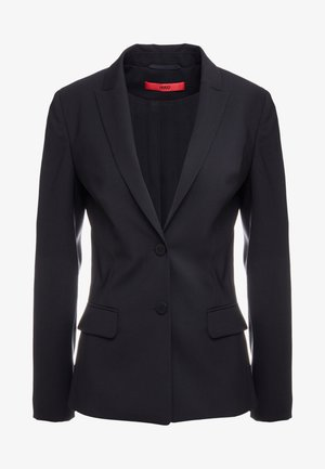 THE LONG JACKET - Blazer - black