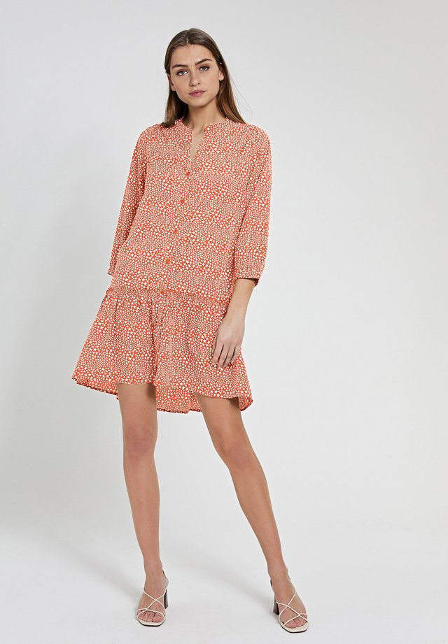 Korte jurk - orange new marmelade