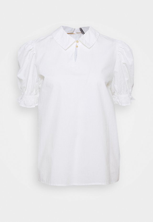 OLENA BLOUSE - Button-down blouse - white