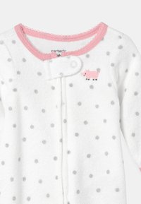 Carter's - PIGGY  - Kruippakje - white/light pink - 2
