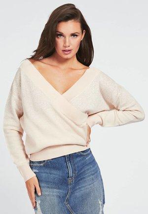 Sweter - licht roze