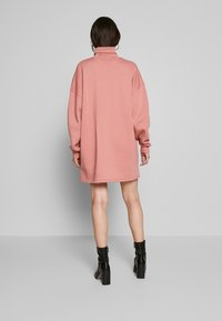 Missguided - HIGH NECK DRESS EXPENSIVE - Day dress - blush - 2