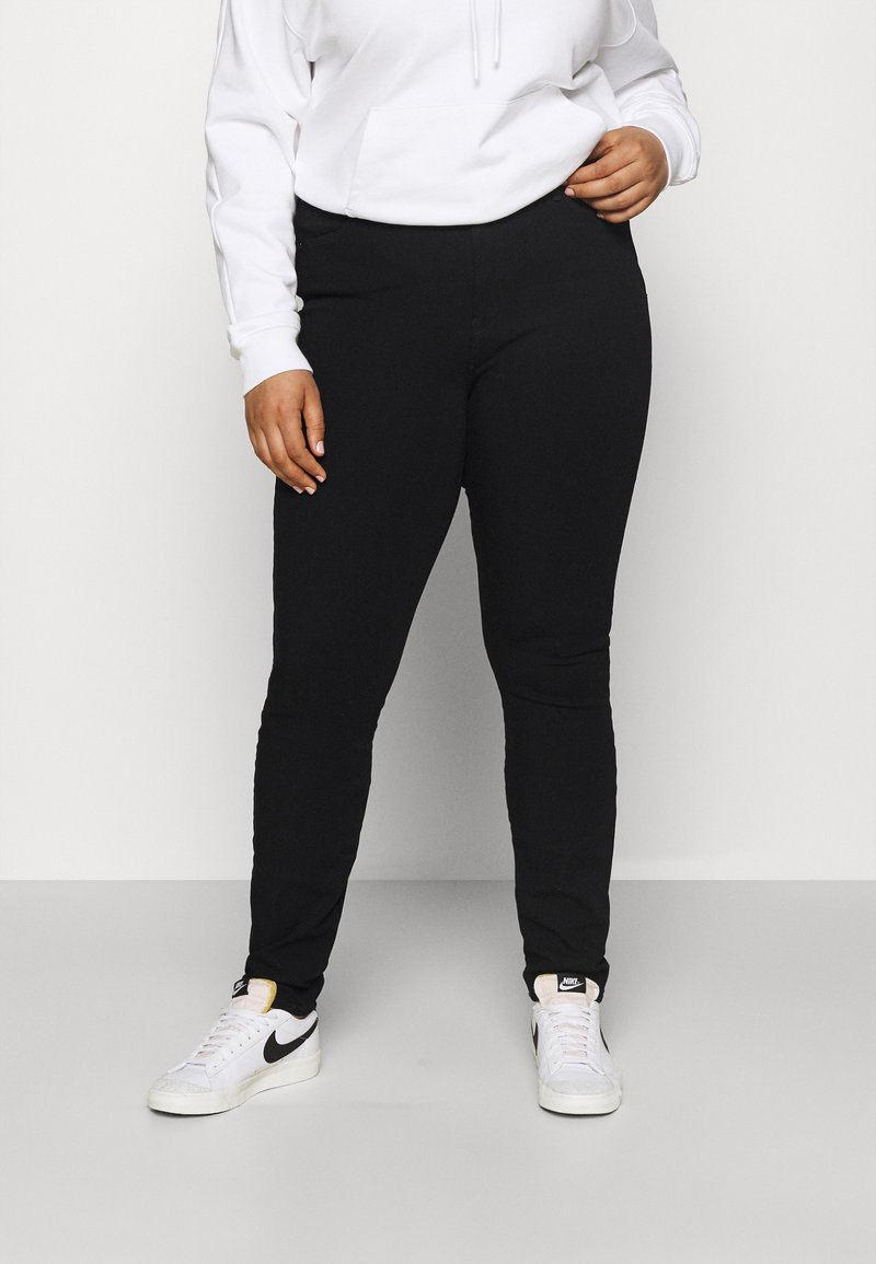 Tommy Hilfiger Curve - SCULPT PANT - Jeans Skinny Fit - black