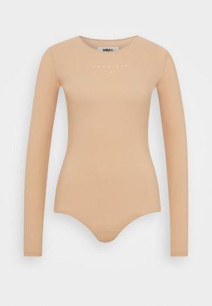 BODY - Long sleeved top - nude
