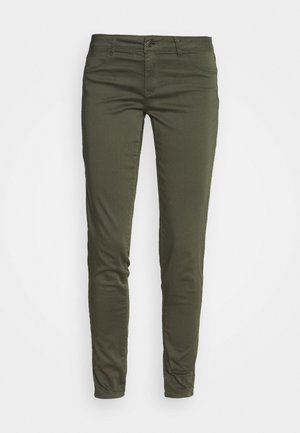 POWER SKINNY - Trousers - marais