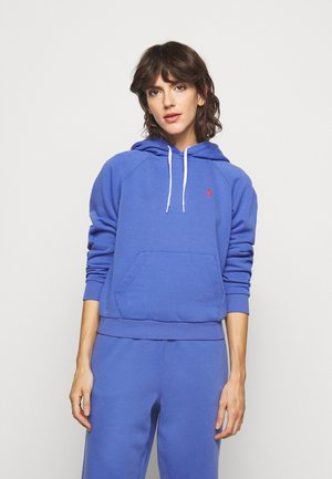 LONG SLEEVE - Sweat à capuche - resort blue